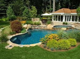 Backyard Pool Pictures Best 25 Backyard Pool Landscaping Ideas On Pinterest Pool