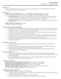 Sales Marketing Resume Sample Marketing Resume Template Resume Sample