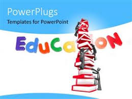 powerpoint template children learning elementary education