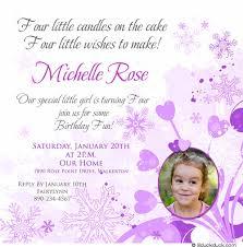birthday invitation wording 4th birthday invitation wording sansalvaje