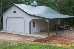Pole Barn With Apartment 30x50x15 With Lean Tos Get A Free Custom Estimate Http