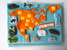 Printable North America Map by Animals Of North America For The Montessori Wall Map U0026 Quietbook