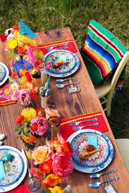 themed tablescapes mexican inspired tablescapes for your