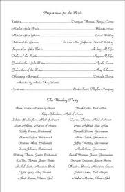 Free Sample Wedding Programs The 25 Best Examples Of Wedding Programs Ideas On Pinterest