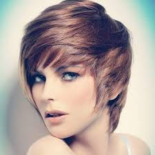 short hairstyles with 1 side longer 21 lovely pixie haircuts perfect for round faces short hair