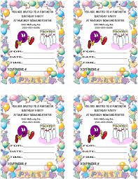 Free Invitation Birthday Cards Invitation Birthday Card Invitation Birthday Card Templates Free