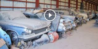 Barn Full Of Classic Cars General Motors No Car No Fun Muscle Cars And Power Cars