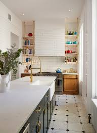 Kitchen Cabinets Brooklyn Ny Home Tour Brooklyn Brownstone Bluegrass Tile