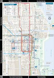 Blue Line Chicago Map by Chicago El Train Map My Blog