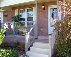 tempered glass panels glass railings alternative to