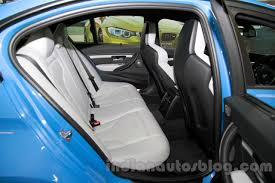 Bmw M3 Back - 2015 bmw m3 rear seat for india indian autos blog