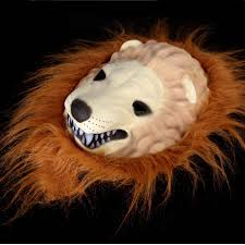 halloween great lion king mask of terror animal dress up sales