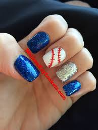 best 25 baseball nail designs ideas on pinterest softball nails