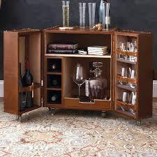vintage trunk bedside table furniture a bedside steamer trunk
