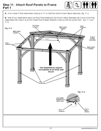 Hip Roof Design Software by Build Your Own Gazebo Roof Gazebo Ideas