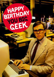 you big geek birthday card 2 50 a great range of you big geek