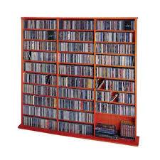 Dvd Bookcase Storage Cd U0026 Dvd Media Storage On Sale Bellacor