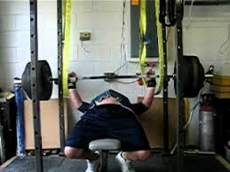 Bench For Power Rack Benching 565 With Safety Straps Youtube