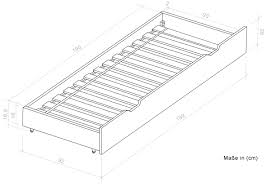 White Single Bed With Storage Single Bed Storage Bed