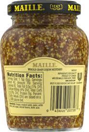 whole grain dijon mustard kroger maille style whole grain dijon mustard