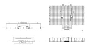 crown hall u2013 cad design free cad blocks drawings details