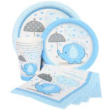 baby shower supplies online blue elephant baby shower decor elephant baby shower ideas