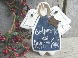godparents gift salt dough angel ornament u2013 cookie dough creations