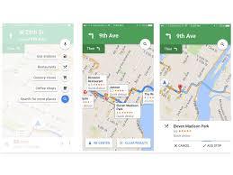Googlle Maps Google Maps Für Ios Erlaubt Spontane Zwischenstopps Zdnet De