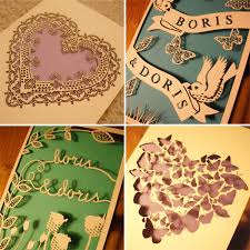 laser cut wedding programs february is national wedding month u pack