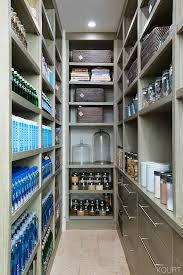 Kourtney Kardashian House Interior Design by Open Wood Shelving And Deep Drawers With Modern Hardware Make The