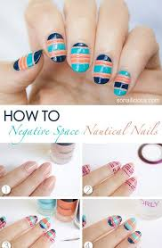 simple u0026 easy step by step nail arts tutorial with pictures for