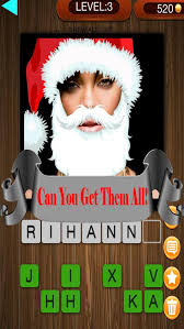 christmas factor celebrity santa guess who pics trivia quiz the