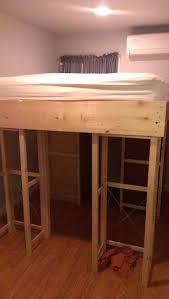 bed frame queen size loft bed frame diy loft bed queen size loft