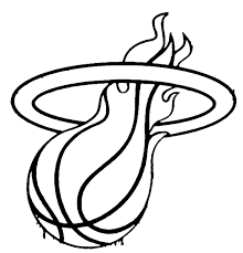 nba coloring pages miami heat coloringstar