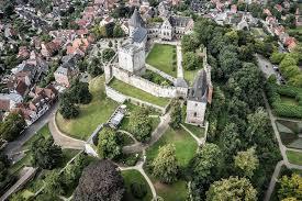 Burg Bad Bentheim Burg Bentheim Rundflug über Burg Bentheim