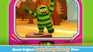 Yo Gabba Gabba Party Ideas by Yo Gabba Gabba Party In My Tummy Amazon Co Uk Appstore For Android