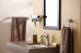 moen yb5186bn voss bathroom towel ring brushed nickel moen voss