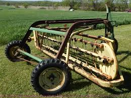 john deere 660 hay rake item bj9580 sold may 27 ag equi