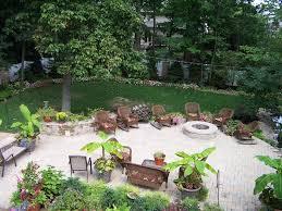 Landscape Fire Pits by Garden Composing The Fire Pit Ideas Cheap House Landscape
