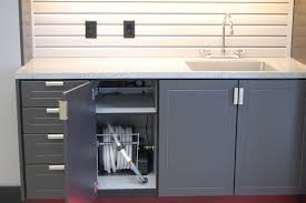 Kitchen Cabinets In Garage Garage Cabinets And Storage Systems