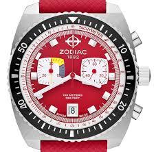 zodiac sea dragon limited edition watch in bright retro colors