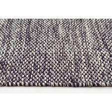 Cotton Wool Rugs Hella Black U0026 White Cotton Flatweave Rug