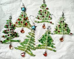 beaded ornament etsy