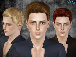 sims 3 men custom content cazy s male sims 3 hairstyles