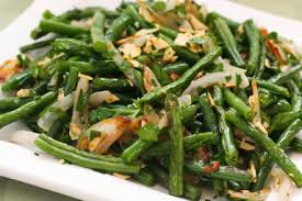 roasted garlic pepper green beans recipegreat