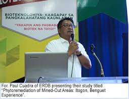 Environmental Scientists And Specialists Bureau Erdb Holds Forum On Mining At 12th Nbw Celebration