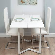 White Furniture Dining Sets Space Saving Dining Table Zamp Co