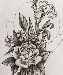 85 best tattoos by alyssa mcnall images on pinterest ps flowers