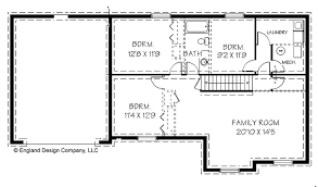 house plan with basement marvellous design simple ranch house plans with basement cool