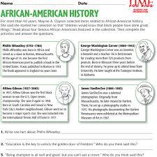 history worksheets for kindergarten 28 templates black history